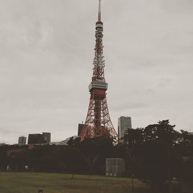 The best view of Tokyo tower.#tokyotower #shibaprincepark from Instagram
